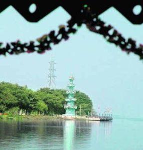 Vijayawada Bhavani Island