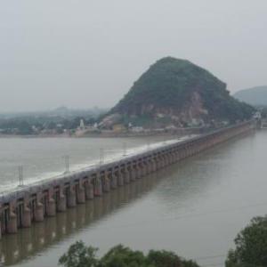 Vijayawada Prakasam Barrage